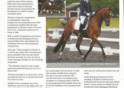 Equestrian Life Feature - May